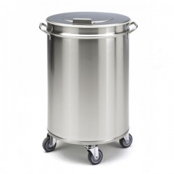 Cubo Inox Residuos SAMMIC con Pedal - 95 litros