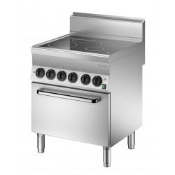 Cocina Vitroceramica 4 Fuegos - Horno Electrico