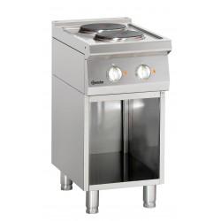 Cocina Electrica 2 Fuegos Parte Inferior Abierta