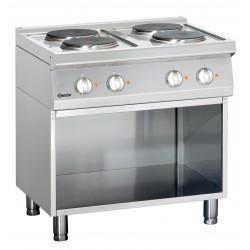 Cocina Electrica 4 Fuegos Parte Inferior Abierta