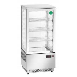 Vitrina Refrigeradora Acero Inox - 78 Litros