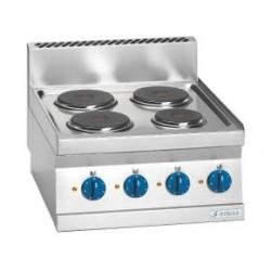 Cocina Sobremesa Electrica 4 Placas - 7.5 kW
