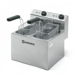 Freidora Electrica Gastronorm 3+3L SAMMIC