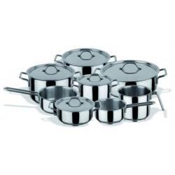 Bateria de Cocina 8 Piezas - Hobby Chef