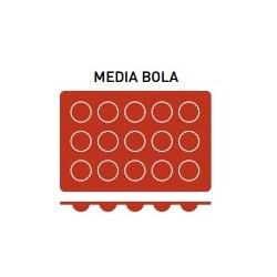 Molde Silicona Media Bola - Pujadas