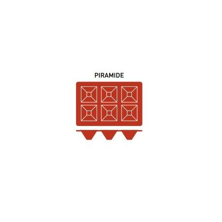 Molde Silicona Piramide - Pujadas