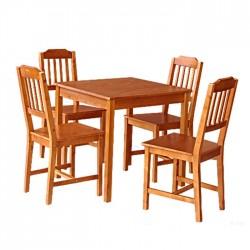 Mesa y 4 sillas comedor - Maquinaria de hostelería