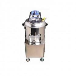 Peladora de Patatas Acero Inox - 400kg/hora