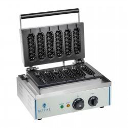 Gofrera para gofres en brocheta - corn dog - 1 x 1.500 Watt