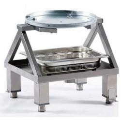 Soporte con Filtro para Peladora Patatas PL-100