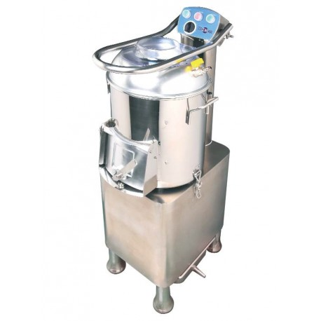 Peladora de Patatas con Cajón Inferior 300kg/h