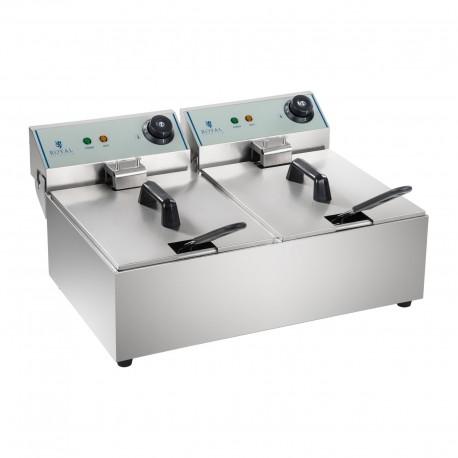 Freidora Individual Electrica ECO 2x10L - 2x3200W