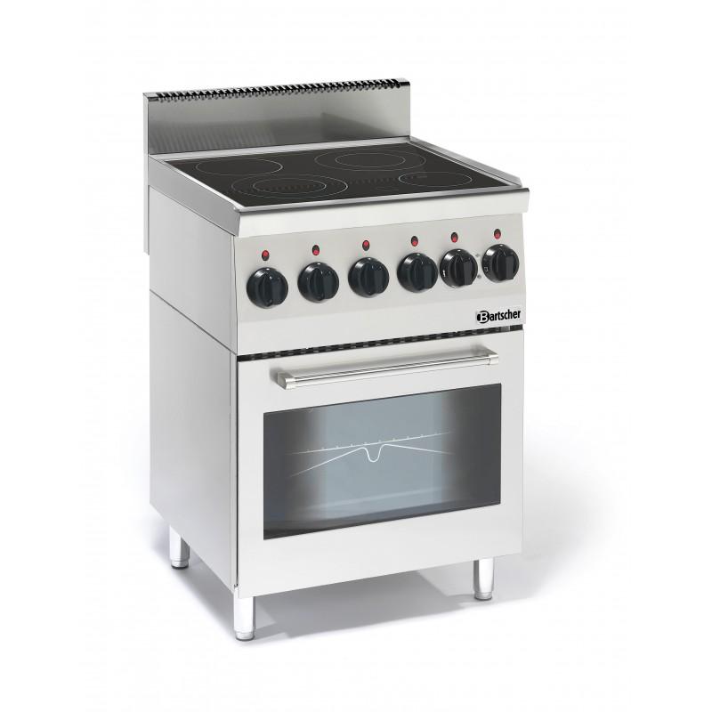 Cocina Vitroceramica Con Horno | Vitroceramica 4 Fuegos Y Horno Electrico Maquinaria De Hosteleria