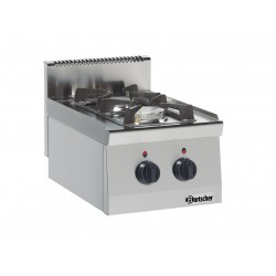 Cocina Sobremesa Gas 2 Fuegos