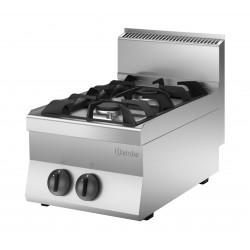 Cocina a Gas 2 Fuegos Sobremesa
