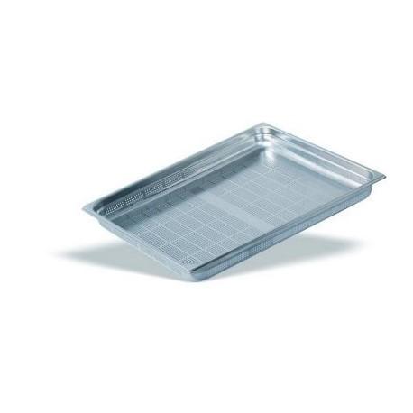 Cubeta Gastronorm Perforada 2/1 Inox 18/10