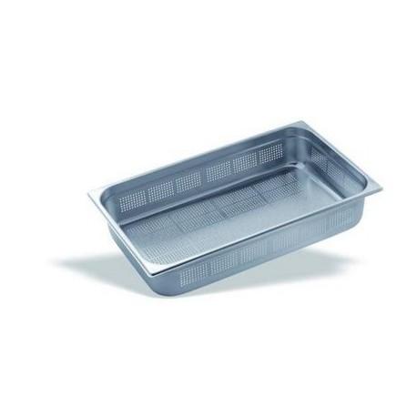 Cubeta Gastronorm Perforada 1/1 Inox 18/10