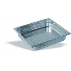 Cubeta Gastronorm Perforada 2/3 Inox 18/10