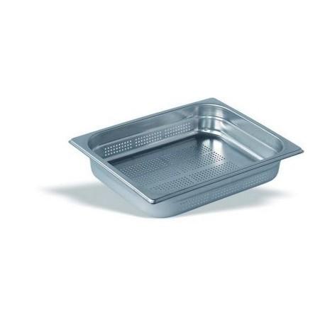 Cubeta Gastronorm Perforada 1/2 Inox 18/10