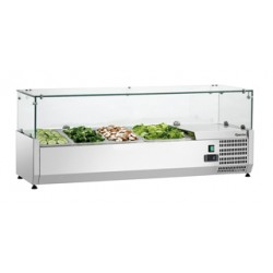 Expositor Refrigerador Sushi, 5x1/2GN