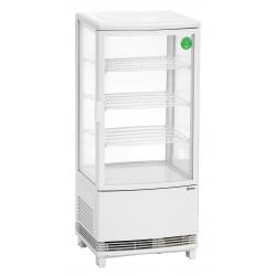 Mini Vitrina Refrigeradora 3 Estantes - 86 Litros