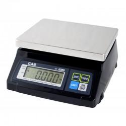 Balanza CAS Negra 4/10 kg División 2/5 gr.