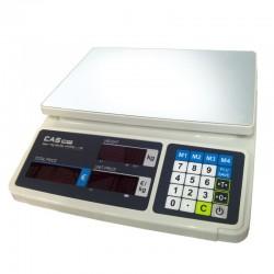 Balanza Comercial Bateria 6/15kg