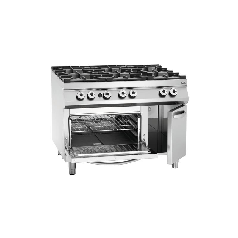 Cocina A Gas Con Horno Electrico | A Gas 8 Fuegos Serie 900 Doble Horno Electrico Maquinaria De