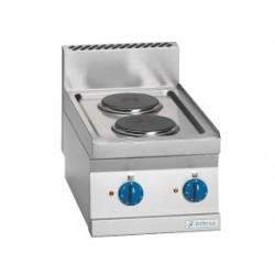Cocina Sobremesa Electrica 2 Placas - 4 kW