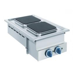 Cocina Electrica Encastrable 2 Placas - 5,2 kW