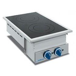 Cocina Vitroceramica Encastrable 2 Fuegos - 5 kW