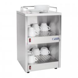 Calentador de tazas - 72 Tazas 2x70W