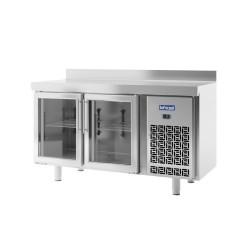Mesa Refrigeración Puerta de Cristal Serie IM 600.