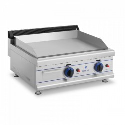 Plancha a Gas Acero Inox Lisa 650 mm - 30mbar