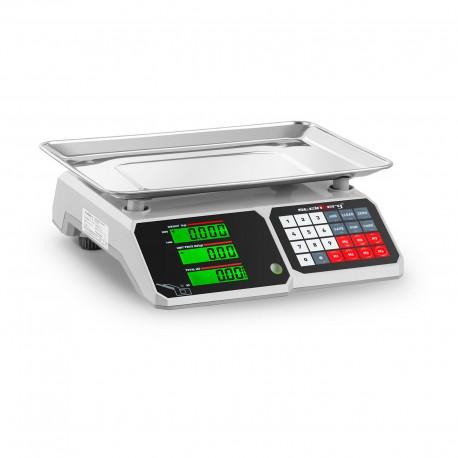 Bascula comercial digital 30 KG / 1gr LCD